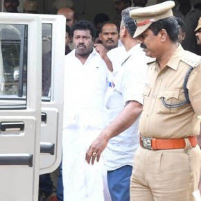 Actor and MLA Karunas arrested in Chennai