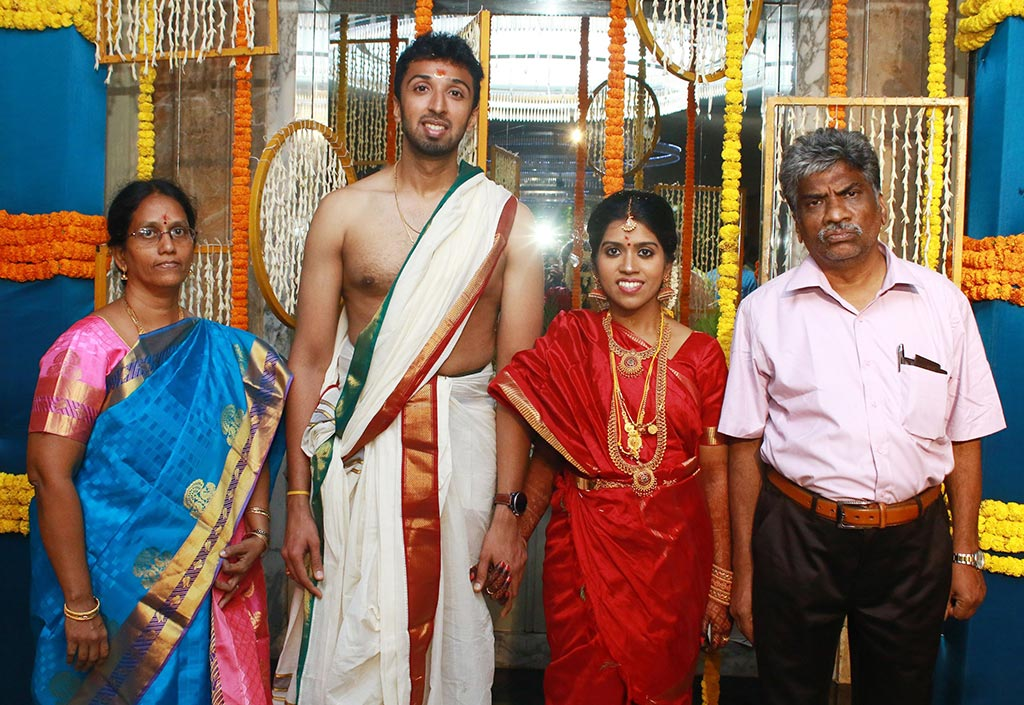 Chennai365 | Director Mano Bala Son Harish – Priya Marriage Photos