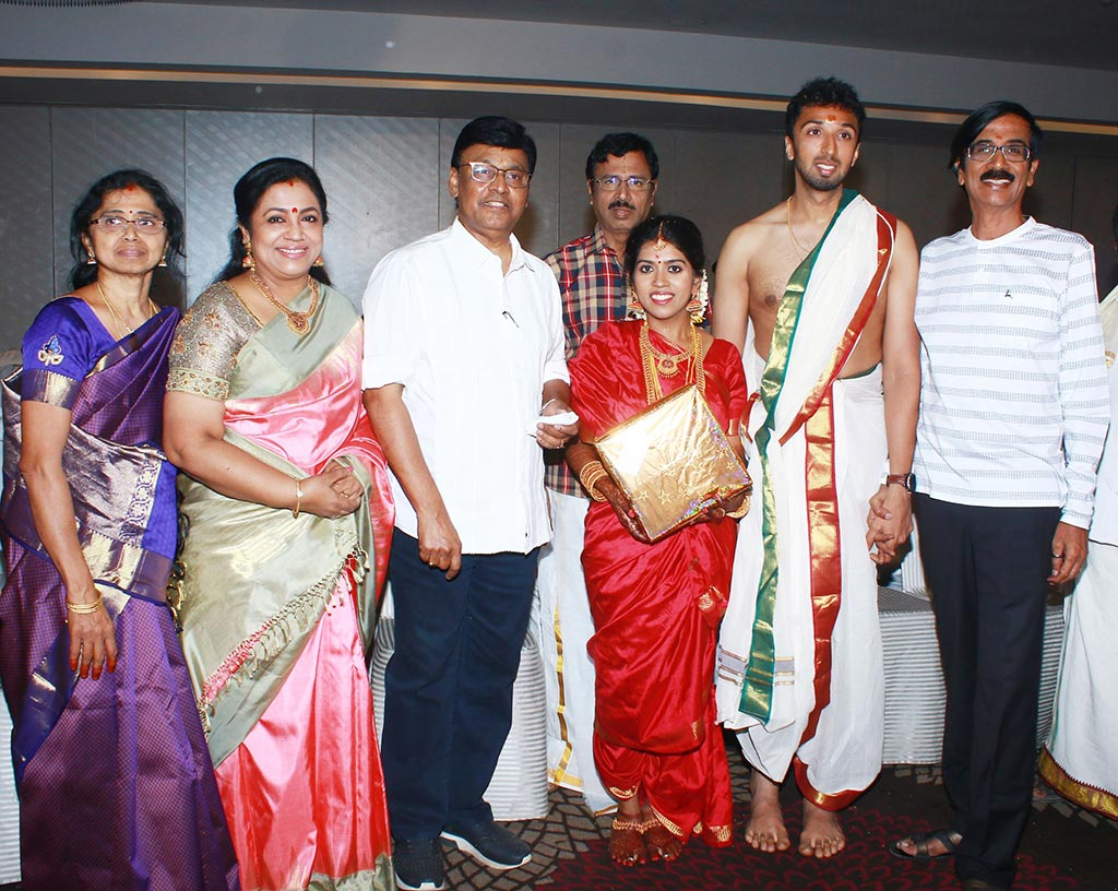Chennai365 | Director Mano Bala Son Harish – Priya Marriage