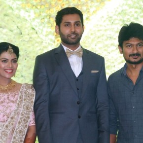 Aadhav Kannadhasan – Vinodhnie Wedding Reception Photos