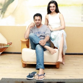 Action King Arjun and Aishwarya Arjun Stills