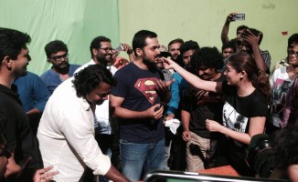 Actor Karthi Birth Day Celebration At Kashmora Shooting Spot (8)