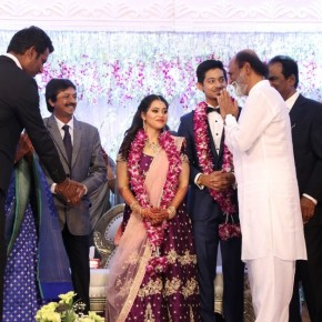 Actor Vishal sister Aishwaryas Wedding Reception (16)