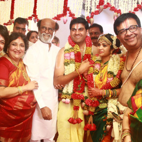 YGee Mahendra's Son Harshavardhana and Shwetha Wedding Still