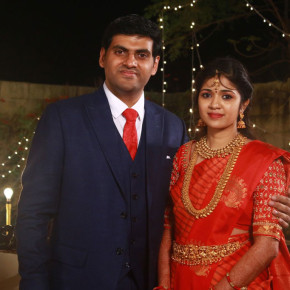 Actor YGee Mahendra's Son Harshavardhana and Shwetha Wedding Reception Stills