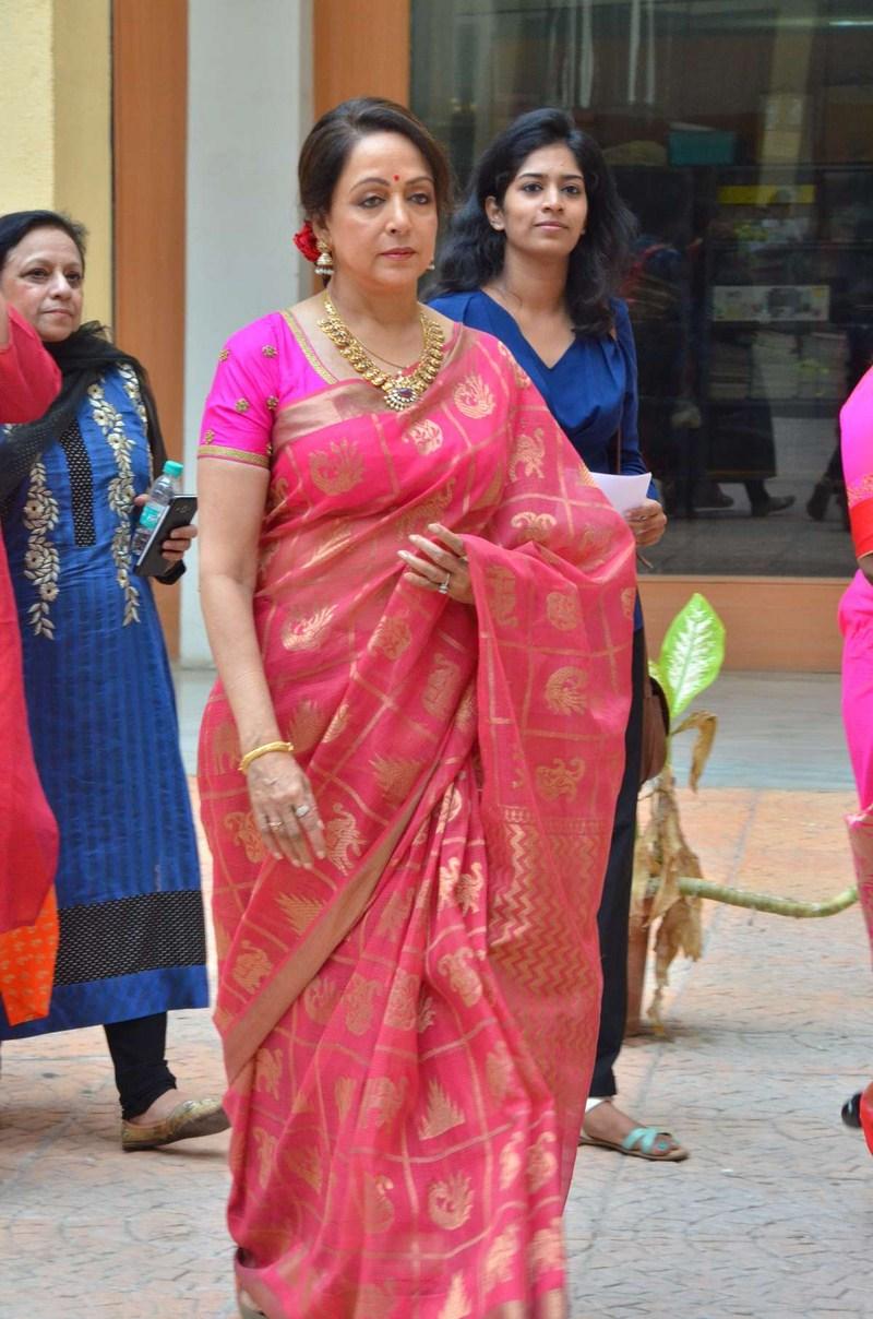 Chennai365 | Actress Hemamalini lunches Synergy 2017 an ...