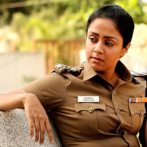 Actress Jyothika Stills in Naachiyaar Movie