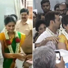 Actress Priyamani tied the knot with businessman Mustufa Raj (1)