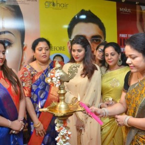 Actress Sneha inaugurates ABC Clinic at Virugambakkam