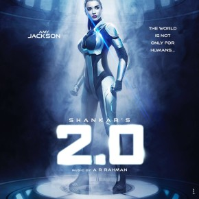 Amy Jackson's first look from 2Point0