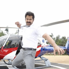 Chiyaan Vikram from the sets of Saamy 2