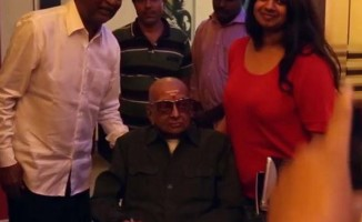 Cho Ramaswamy watches kabali Movie with Rajinikanth (7)
