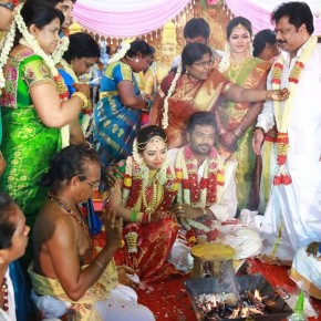 Director-Pandiarajans-Son-Prithvirajan-Weds-Akshaya-Wedding-