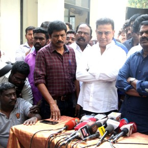 Kamal Haasan Met Seeman Photos