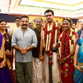 Kamal Haasan at producer Srikanth's son Akshay wedding (3)