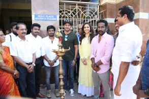 Kannum Kannum Kollaiyadithaal Movie Launch Stills