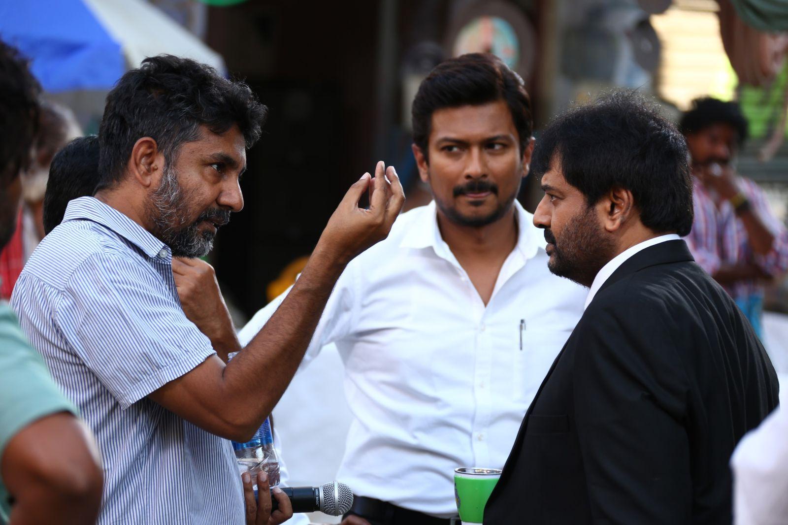 Chennai365 | Manithan Movie Working Stills | Chennai365 Naan Sigappu Manithan Tamil Movie