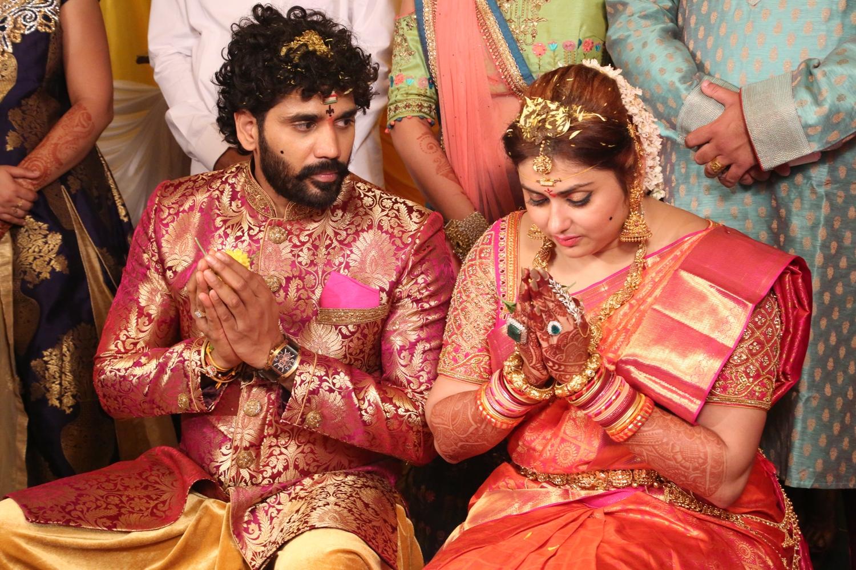 Chennai365 Namitha Veera Marriage Stills Chennai365