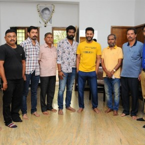Ondikkatta-Team-Meet-Actor-Vishal-and-Prabhu-Deva-Photos-21