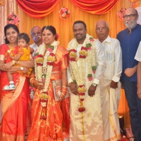 Producer M Ramanathan Daughter Wedding Photos
