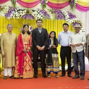 Producer Srikanth's son Akshay and Sowmiya Wedding Reception (1)