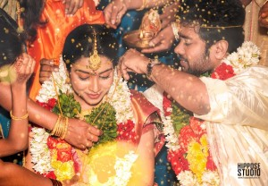 Satna Titus and Karthi Marriage Stills (3)