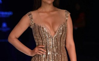 Stunning Shriya Saran Stills at Lakme Fashion Week (4)