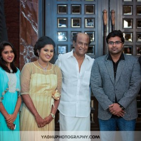 Super Star at Director K.S.Ravikumar daughter's after marriage party Gallery (2)