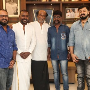 Superstar Rajinikanth With Motta Shiva Ketta Shiva Team (1)