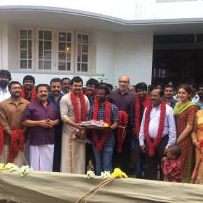 Karthi – Pandiraj Movie Pooja Stills