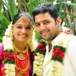 TV Actor  SAI PRASHANTH With His Wife (4)
