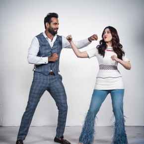 Tamannah Bhattiah With Irfan Pathan In Lip Sing Battle