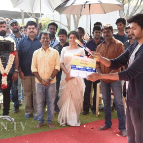 Thalapathy 62 Movie Pooja Stills