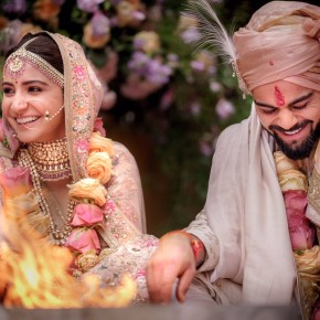 Virat Kohli and Anushka Sharma tie the knot