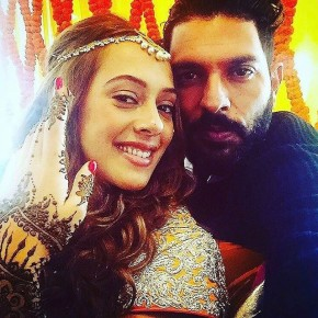 Yograj Singh, Virat Join Yuvraj and Hazel's Pre-Wedding Party