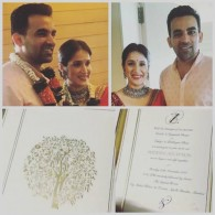 Zaheer Khan Just Married To Sagarika Ghatge Stills